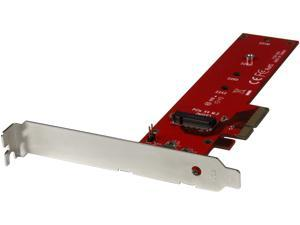 StarTech.com PEX4M2E1 M.2 Adapter - x4 PCIe 3.0 NVMe - Low Profile and Full Profile - SSD PCIE M.2 Adapter - M2 SSD - PCI Express SSD