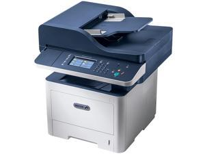 Xerox WorkCentre 3345/DNIM Black And White Multifunction Printer, Print/Copy/Scan/Fax, Letter/Legal, Up To 42ppm, 2-Sided Print, USB/Ethernet/Wireless, 110V, Metered