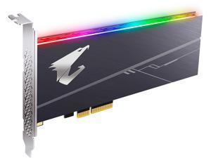 GIGABYTE AORUS AIC 512GB PCI-Express 3.0 x4, NVMe 1.3 3D TLC ToshiBa BiCS3 Internal Solid State Drive (SSD) GP-ASACNE2512GTTDR
