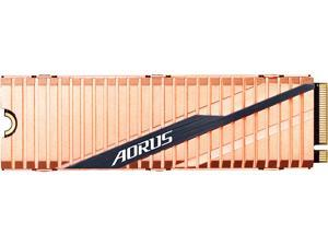 GIGABYTE AORUS NVMe Gen4 SSD 500GB M.2 2280 PCI-Express 4.0 x4 3D TLC Internal Solid State Drive (SSD) Dual Side Copper GP-ASM2NE6500GTTD