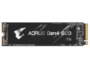 GIGABYTE AORUS Gen4 M.2 2280 1TB PCI-Express 4.0 x4, NVMe 1.3 3D TLC Internal Solid State Drive (SSD) GP-AG41TB