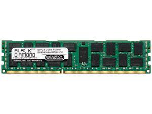 Black Diamond Memory 8GB 240-Pin DDR3 SDRAM DDR3 1600 (PC3 12800) ECC Registered System Specific Memory Model BD8G1600MTR23DE