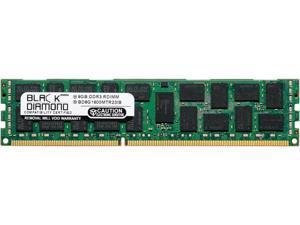 Black Diamond Memory 16GB 240-Pin DDR3 SDRAM DDR3 1333 (PC3 10600) ECC Registered System Specific Memory Model BD16G1333MTR23IB
