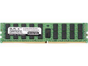 Black Diamond Memory 16GB 288-Pin DDR4 SDRAM DDR4 2133 (PC4 17000) ECC Registered System Specific Memory Model BD16G2133MQR26DE