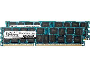 Black Diamond Memory 16GB (2 x 8GB) 240-Pin DDR3 SDRAM DDR3 1066 (PC3 8500) ECC Registered System Specific Memory Model BD8GX21066MTR16HP