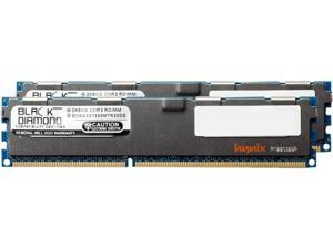 Black Diamond Memory 16GB (2 x 8GB) 240-Pin DDR3 SDRAM DDR3 1333 (PC3 10600) ECC Registered System Specific Memory Model BD8GX21333MTR23DE