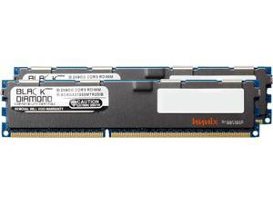 Black Diamond Memory 16GB (2 x 8GB) 240-Pin DDR3 SDRAM DDR3 1333 (PC3 10600) ECC Registered System Specific Memory Model BD8GX21333MTR23IB