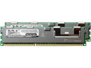 Black Diamond Memory 64GB (2 x 32GB) 240-Pin DDR3 SDRAM DDR3 1066 (PC3 8500) ECC Registered System Specific Memory Model BD32GX21066MTR26IB