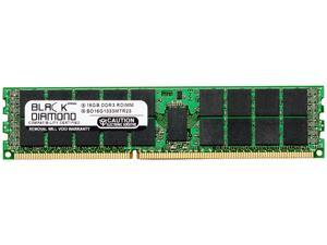 Black Diamond Server Memory 16GB 240-Pin DDR3 SDRAM ECC Registered DDR3 1333 (PC3 10600) Model BD16G1333MTR23