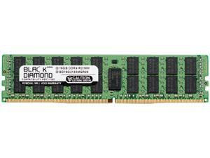 Black Diamond Memory 16GB 288-Pin DDR4 SDRAM ECC Registered DDR4 2133 (PC4 17000) Server Memory Model BD16G2133MQR26