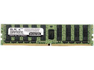 Black Diamond Memory 32GB 288-Pin DDR4 SDRAM ECC Registered DDR4 2133 (PC4 17000) Server Memory Model BD32G2133MQR26