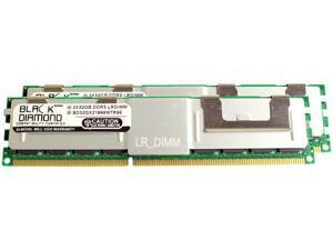 Black Diamond Memory 64GB (2 x 32GB) 240-Pin DDR3 SDRAM ECC Load Reduced DDR3 1866 (PC3 14900) Server Memory Model BD32GX21866MTR96