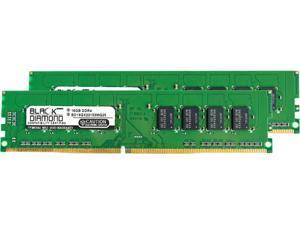 Black Diamond Memory 32GB (2 x 16GB) 288-Pin DDR4 SDRAM DDR4 2133 (PC4 17000) Desktop Memory Model BD16GX22133MQ25