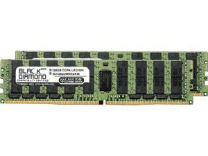 Black Diamond Memory 256GB (2 x 128GB) 288-Pin DDR4 SDRAM ECC Registered DDR4 2666 (PC4 21300) Server Memory Model BD128GX22666MQR96
