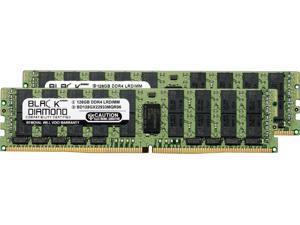 Black Diamond Memory 256GB (2 x 128GB) 288-Pin DDR4 SDRAM ECC Registered DDR4 2933 (PC4 23400) Server Memory Model BD128GX22933MQR96