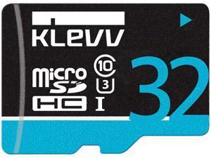 KLEVV Premium MicroSD SDHC Class 10 UHS-I U3 32GB, Black, U032GUC3U14-B, read speed: up to 97MB/s, latest SDA 3.0