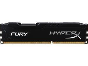 HyperX FURY 4GB 240-Pin DDR3 SDRAM DDR3 1600 (PC3 12800) Desktop Memory Model HX316C10FB/4