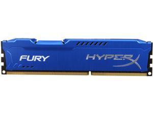 HyperX FURY 4GB 240-Pin DDR3 SDRAM DDR3 1866 Desktop Memory Model HX318C10F/4