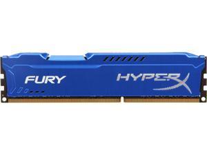 HyperX FURY 8GB 240-Pin DDR3 SDRAM DDR3 1866 Desktop Memory Model HX318C10F/8