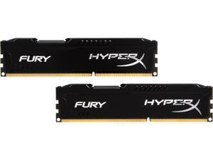 HyperX FURY 8GB (2 x 4GB) 240-Pin DDR3 SDRAM DDR3 1866 Desktop Memory Model HX318C10FBK2/8