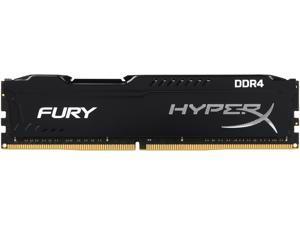 HyperX FURY 8GB 288-Pin DDR4 SDRAM DDR4 2400 (PC4 19200) Intel X99 Desktop Memory Model HX424C15FB/8