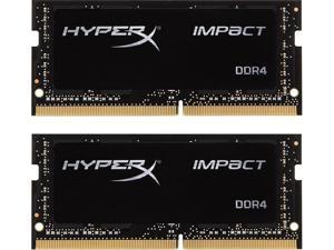 HyperX Impact 16GB (2 x 8GB) 260-Pin DDR4 SO-DIMM DDR4 2133 (PC4 17000) Laptop Memory Model HX421S13IBK2/16