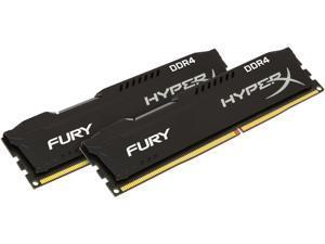 HyperX Fury 16GB (2 x 8GB) DDR4 2400MHz DRAM (Desktop Memory) CL15 1.2V DIMM (288-pin) HX424C15FB2K2/16 (Intel XMP, AMD Ryzen)