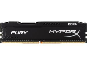 HyperX Fury 8GB (1 x 8GB) DDR4 2666MHz DRAM (Desktop Memory) CL16 1.2V Black DIMM (288-pin) HX426C16FB2/8 (Intel XMP, AMD Ryzen)
