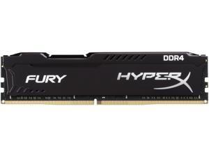 HyperX Fury 16GB (1 x 16GB) DDR4 2666MHz DRAM (Desktop Memory) CL16 1.2V Black DIMM (288-pin) HX426C16FB/16 (Intel XMP, AMD Ryzen)