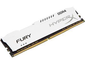 HyperX Fury 16GB (1 x 16GB) DDR4 2666MHz DRAM (Desktop Memory) CL16 1.2V White DIMM (288-pin) HX426C16FW/16 (Intel XMP, AMD Ryzen)