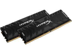 HyperX Predator 16GB (2 x 8GB) DDR4 2400MHz DRAM (Desktop Memory) CL12 1.35V Black DIMM (288-pin) HX424C12PB3K2/16 (Intel XMP)