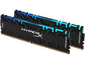 HyperX Predator RGB 16GB (2 x 8GB) 288-Pin DDR4 SDRAM DDR4 2933 (PC4 23400) Desktop Memory Model HX429C15PB3AK2/16