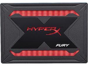 "HyperX Fury RGB 2.5"" 960GB SATA III 3D TLC Internal Solid State Drive (SSD) SHFR200/960G"