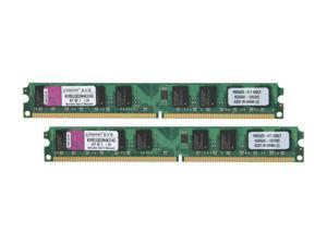 Kingston 4GB (2 x 2GB) 240-Pin DDR2 SDRAM DDR2 533 (PC2 4200) Dual Channel Kit Desktop Memory Model KVR533D2N4K2/4G