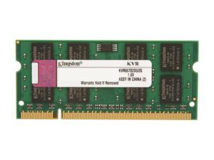Kingston 2GB 200-Pin DDR2 SO-DIMM DDR2 667 (PC2 5300) Laptop Memory Model KVR667D2S5/2G
