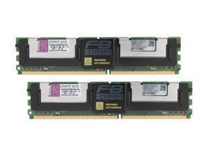 Kingston ValueRAM 4GB (2 x 2GB) 240-Pin DDR2 SDRAM ECC Fully Buffered DDR2 667 (PC2 5300) Dual Channel Kit Server Memory Model KVR667D2D8F5K2/4G
