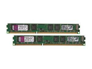 Kingston ValueRAM 4GB (2 x 2GB) 240-Pin DDR3 SDRAM DDR3 1333 (PC3 10600) Desktop Memory Model KVR1333D3K2/4GR