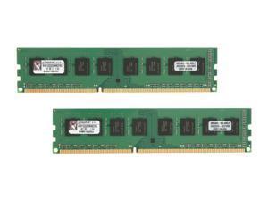 Kingston 8GB (2 x 4GB) 240-Pin DDR3 SDRAM DDR3 1333 (PC3 10600) Desktop Memory Model KVR1333D3N9K2/8G