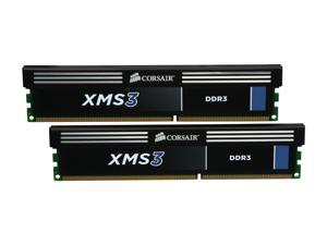 CORSAIR XMS3 8GB (2 x 4GB) 240-Pin DDR3 SDRAM DDR3 1333 (PC3 10600) Desktop Memory Model CMX8GX3M2A1333C9