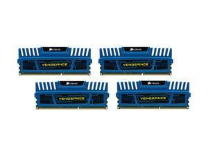 CORSAIR Vengeance 16GB (4 x 4GB) 240-Pin DDR3 SDRAM DDR3 1600 (PC3 12800) Desktop Memory Model CMZ16GX3M4A1600C9B