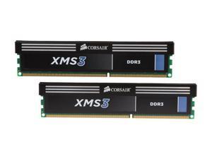 CORSAIR XMS3 16GB (2 x 8GB) 240-Pin DDR3 SDRAM DDR3 1600 (PC3 12800) Desktop Memory Model CMX16GX3M2A1600C11