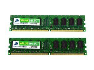 4GB  4 X 1GB PC2-4200 DDR2 NON-ECC Dell Dimension XPS Gen 3 G3 Memory RAM