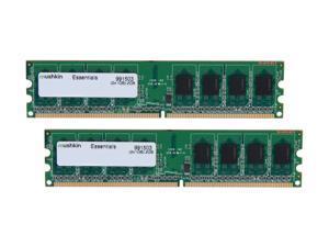 2X 1GB= 2GB DDR2 667mhz STANDARD PC MEMORY KINGSTON KVR667D2N5K2 DESKTOP RAM LOT