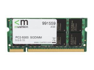 Mushkin Enhanced Essentials 2GB 200-Pin DDR2 SO-DIMM DDR2 667 (PC2 5300) Laptop Memory Model 991559