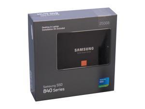 """SAMSUNG 840 Series 2.5"""" 250GB SATA III Internal Solid State Drive (SSD) MZ-7TD250KW"""