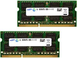 16GB (2 x 8GB) 204-Pin DDR3 SO-DIMM DDR3 1600 (PC3 12800) Laptop Memory Model M471B1G73CB0-CK0