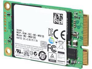 SAMSUNG 850 EVO mSATA 120GB SATA III 3D NAND Internal SSD Single Unit Version MZ-M5E120BW