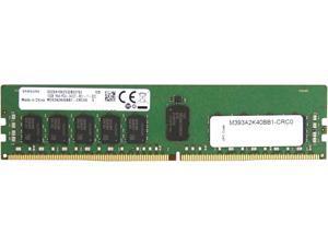 SAMSUNG 16GB 288-Pin DDR4 SDRAM ECC Registered DDR4 2400 (PC4 19200) Major Brand Chipset Memory (Server Memory) Model M393A2K40BB1-CRC