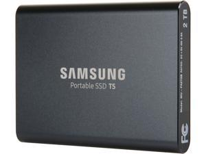 SAMSUNG T5 Portable SSD 2TB - Up to 540 MB/s - USB 3.1 External Solid State Drive MU-PA2T0B/AM