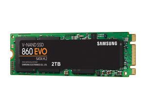 SAMSUNG 860 EVO Series M.2 2280 2TB SATA III V-NAND 3-bit MLC Internal Solid State Drive (SSD) MZ-N6E2T0BW